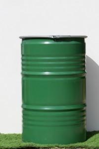 חבית מתכת 200 ליטר