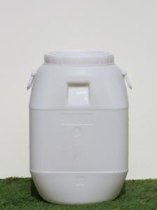 מיכל פלסטיק עם מכסה מתברג 54 ליטר